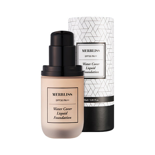 [MERBLISS] Water Cover Liquid Foundation SPF30 PA++ 30ml