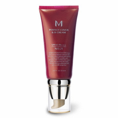 [MISSHA] M Perfect Cover BB Cream 50ml SPF42 PA+++ - Cosmetic Love - 1