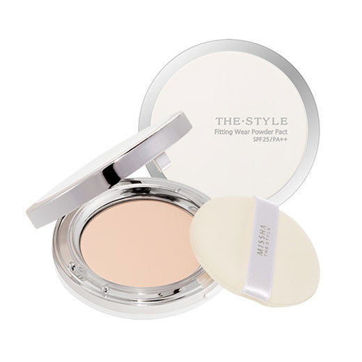 [Missha] The Style Fitting Wear Powder Pact SPF25 PA++ - Cosmetic Love