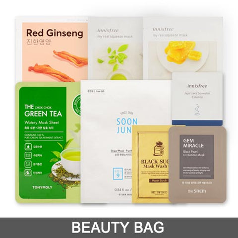 [Beauty Bag] Mask & Pack Samples (8PCS)