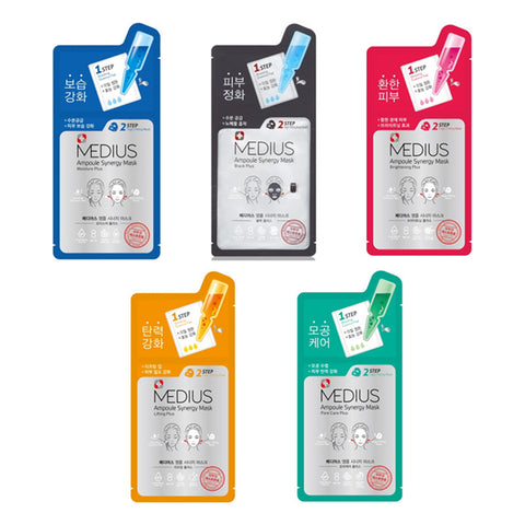 [MEDIUS] Ampoule Synergy Mask (3ml+30ml) x 5PCS - Cosmetic Love
