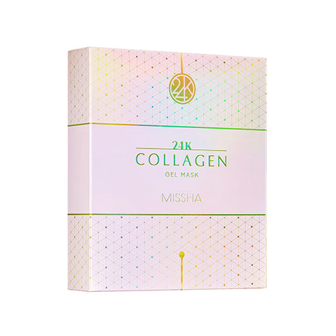 [Missha] 24K Collagen Gel Mask 10EA