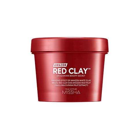 [Missha] Amazon Red Clay Pore Mask 110ml