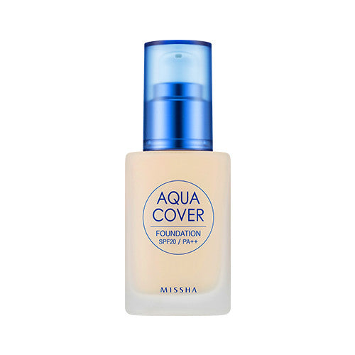 [Missha] Aqua Cover Foundation SPF20 PA++ - Cosmetic Love