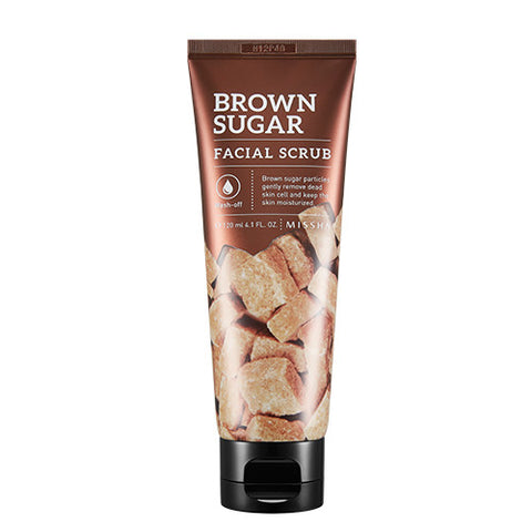 [Missha] Brown Sugar Facial Scrub 120g - Cosmetic Love