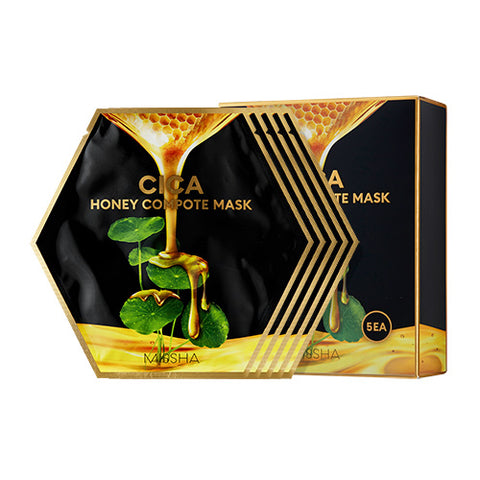 [Missha] Cica Honey Compote Mask 27gx5sheets