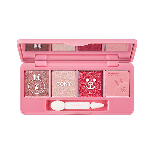 [Missha] Line Friends Edition Eye Color Studio Mini - Cosmetic Love
