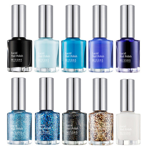 [Missha] Lucid Nail Polish - Cosmetic Love