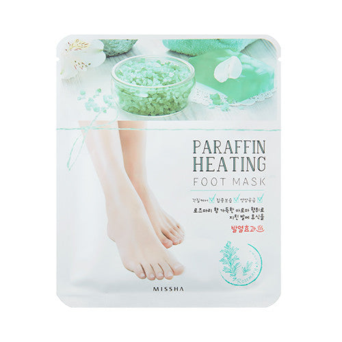 [Missha] Paraffin Heating foot Mask 1sheet - Cosmetic Love