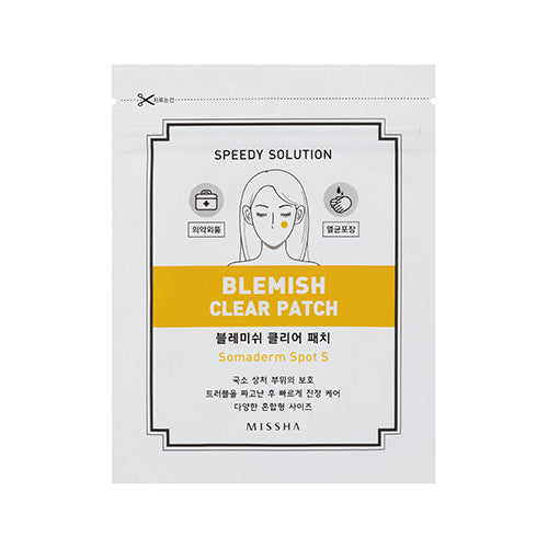 [Missha] Speedy Solution Blemish Clear Patch - Cosmetic Love