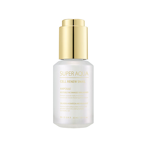 [Missha] Super Aqua Cell Renew Snail Ampoule 30ml