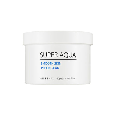 [Missha] Super Aqua Smooth Skin Peeling Pad 60ea - Cosmetic Love