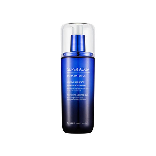[Missha] Super Aqua Ultra Waterful Control Emulsion 130ml - Cosmetic Love