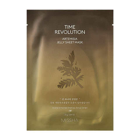 [Missha] Time Revolution Artemisa Jelly Sheet Mask 23g