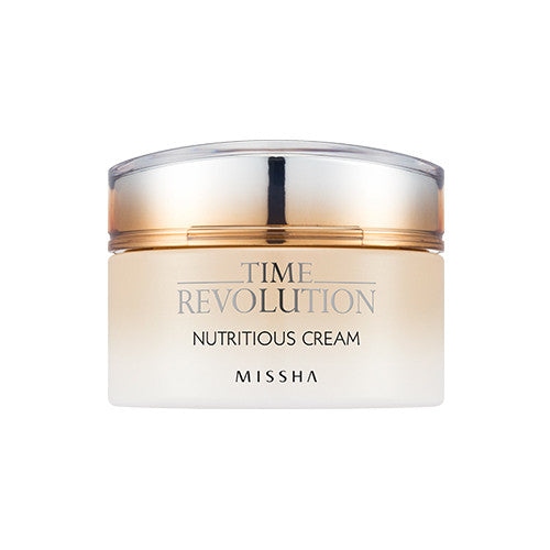 [Missha] Time Revolution Nutritious Cream 50ml - Cosmetic Love