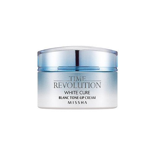 [Missha] Time Revolution White Cure Blanc Tone Up Cream - Cosmetic Love