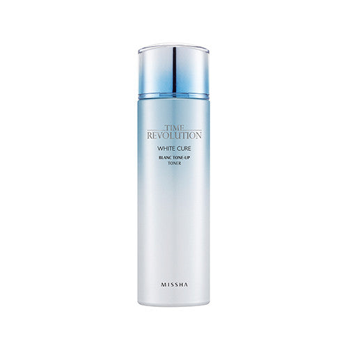 [Missha] Time Revolution White Cure Blanc Tone Up Toner - Cosmetic Love