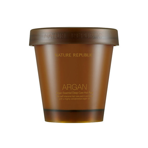 [Nature Republic] Argan Essential Deep Care Hair Pack 200ml - Cosmetic Love