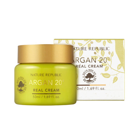 [Nature Republic] Argan 20 Real Cream - Cosmetic Love