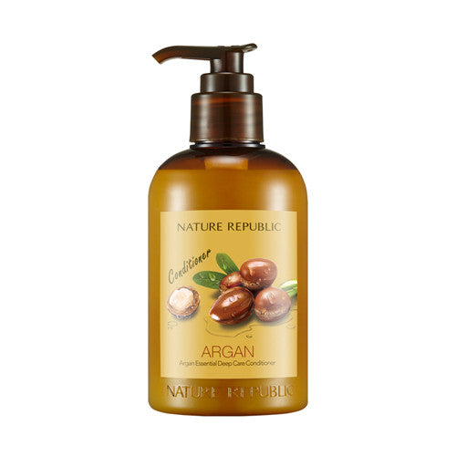 [Nature Republic] Argan Essential Deep Care Conditioner 300ml - Cosmetic Love