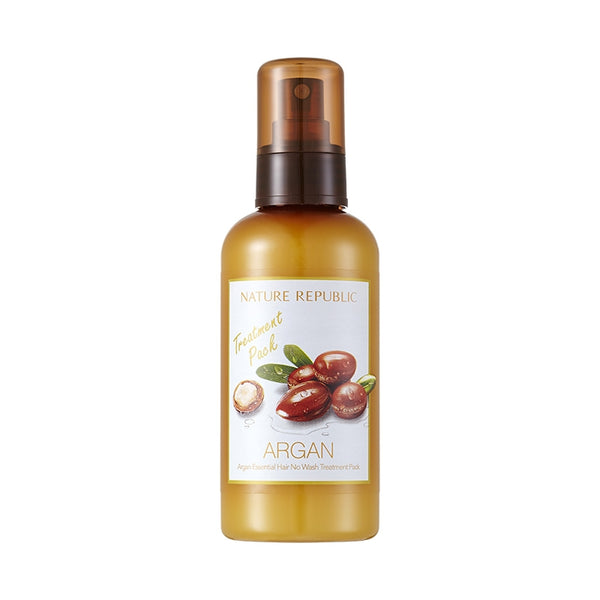 [Nature Republic] Argan Essential Hair No Wash Treatment Pack 160ml