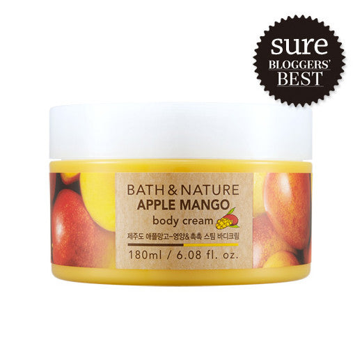 [Nature Republic] Bath & Nature Body Cream 180ml - Cosmetic Love