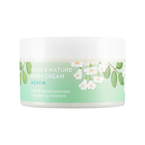 [Nature Republic] Bath & Nature Body Cream Acacia - Cosmetic Love