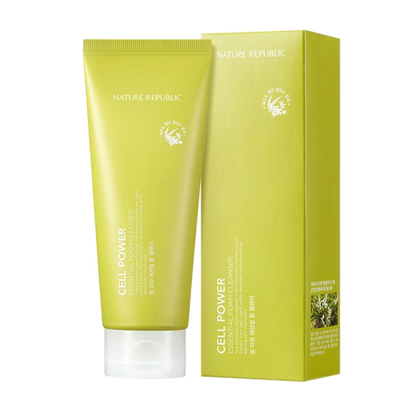 [Nature Republic] Cell Power Essential Foam Cleanser 150ml