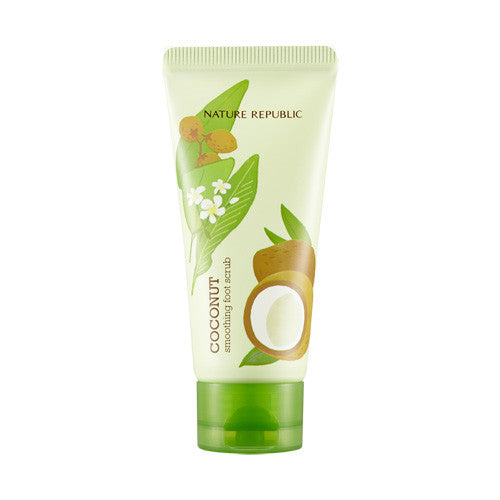 [Nature Republic] Foot & Nature Coconut Smoothing Foot Scrub 80ml - Cosmetic Love