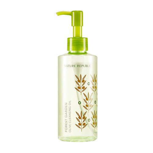[Nature Republic] Forest Garden Olive Cleansing Oil 200ml - Cosmetic Love