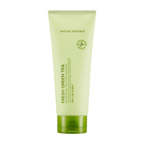 [Nature Republic] Fresh Green Tea Foam Cleanser 150ml - Cosmetic Love