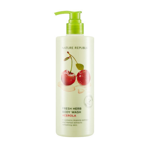 [Nature Republic] Fresh Herb Body Wash - Cosmetic Love