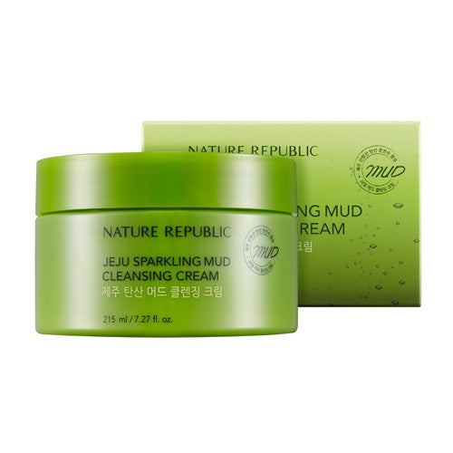 [Nature Republic] Jeju Sparkling Mud Cleansing Cream - Cosmetic Love