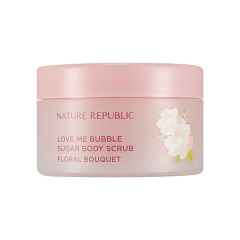 [Nature Republic] Love Me Bubble Sugar Body Scrub 200g