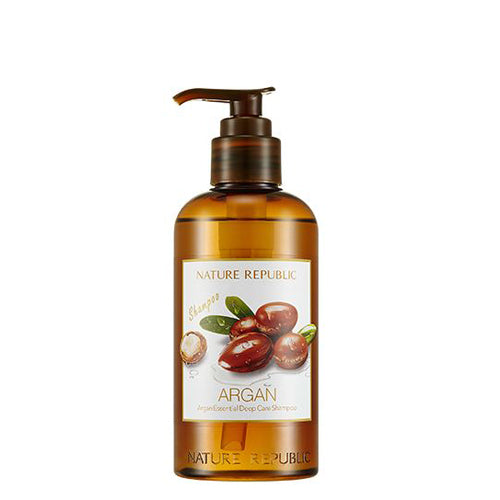 [Nature Republic] NEW Argan Essential Deep Care Shampoo 300ml