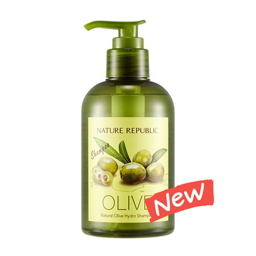[Nature Republic] Natural Olive Hydro Shampoo 310ml - Cosmetic Love