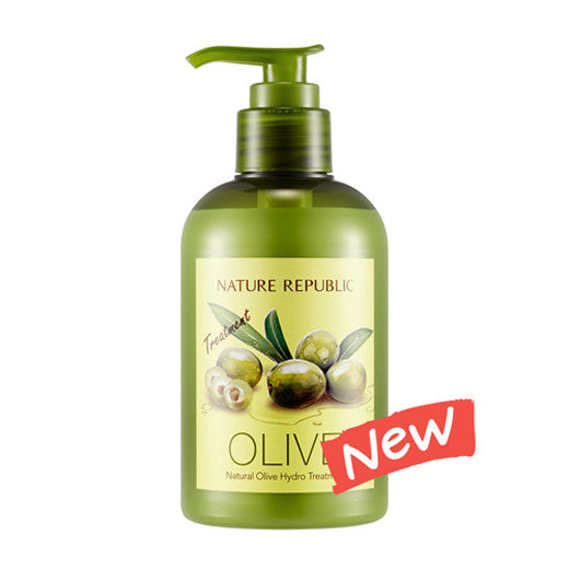 [Nature Republic] Natural Olive Hydro Treatment 310ml - Cosmetic Love