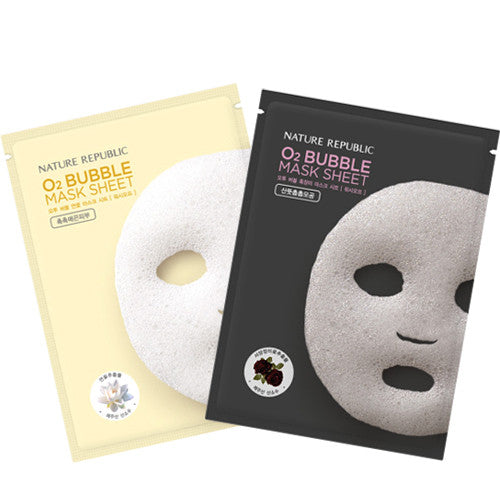 [Nature Republic] O2 Bubble Mask 1Sheet - Cosmetic Love