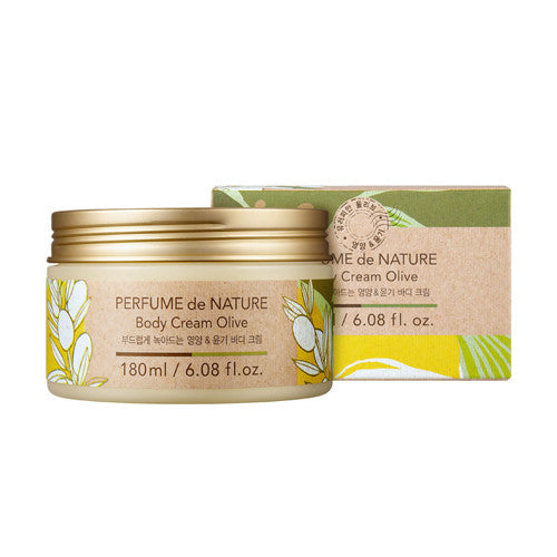 [Nature Republic] Perfume De Nature Body Cream - Cosmetic Love