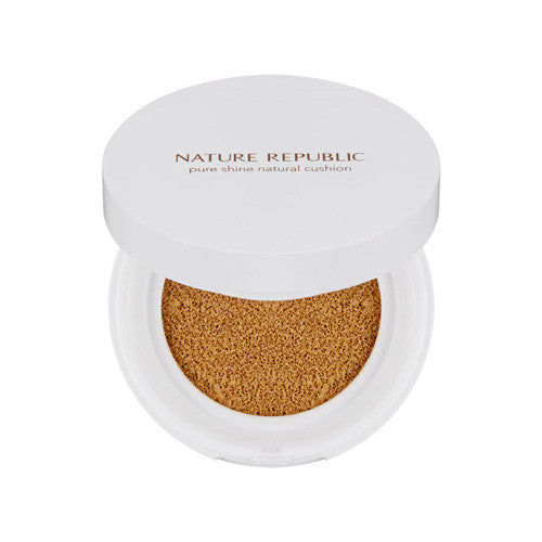 [Nature Republic] Pure Shine Natural Cushion SPF50+ PA+++ 12g - Cosmetic Love