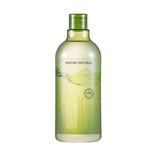 [Nature Republic] Jeju Sparkling Cleansing Water 510ml - Cosmetic Love