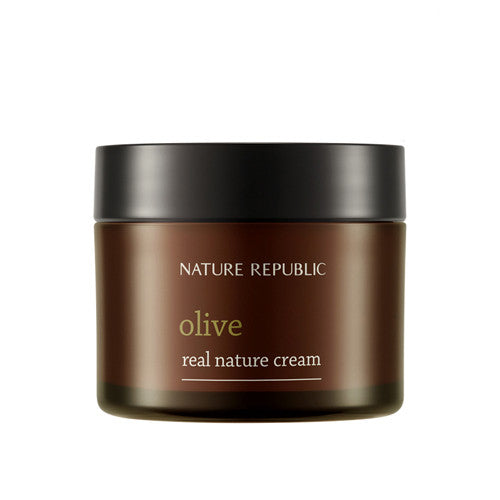 [Nature Republic] Real Nature Olive Cream 50ml - Cosmetic Love