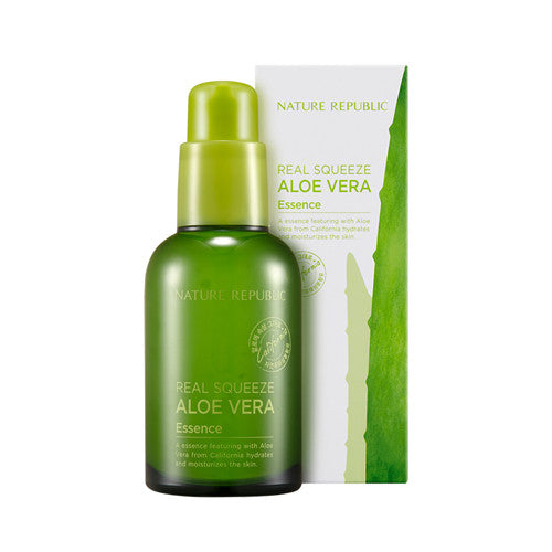 [Nature Republic] Real Squeeze Aloe Vera Essence 50ml - Cosmetic Love