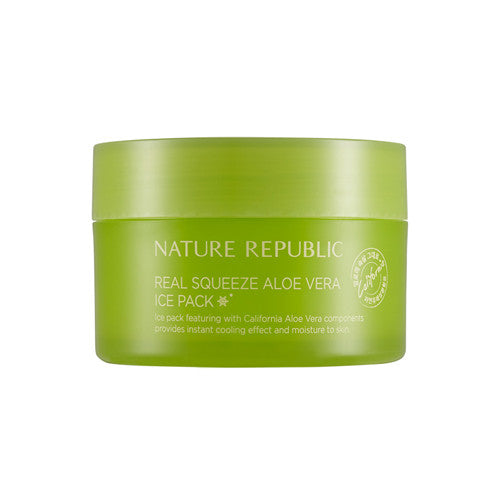 [Nature Republic] Real Squeeze Aloe Vera Ice Pack 100ml - Cosmetic Love
