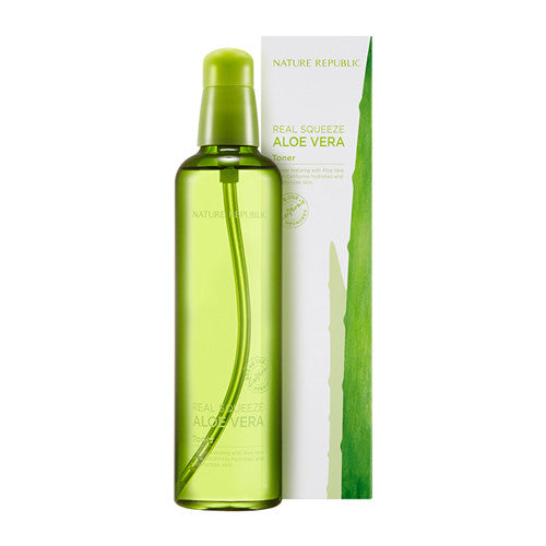 [Nature Republic] Real Squeeze Aloe Vera Toner 150ml - Cosmetic Love