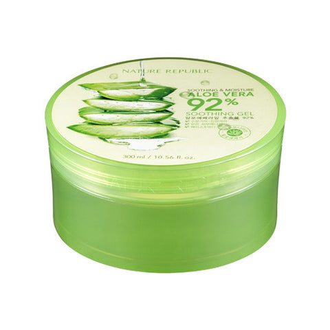 [Nature Republic] Shoothing & Moisture Aloe Vera 92% Soothing Gel 300ml