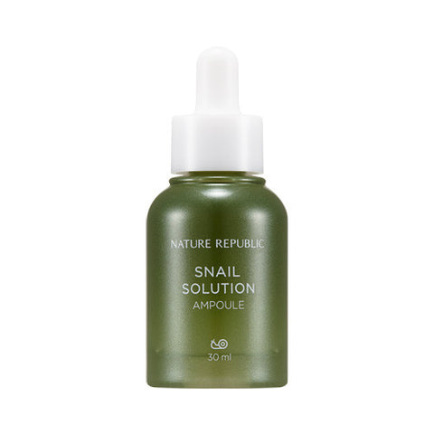 [Nature Republic] Snail Solution Ampoule - Cosmetic Love