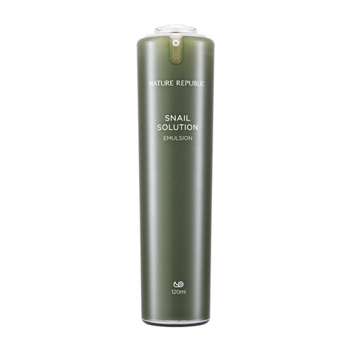 [Nature Republic] Snail Solution Emulsion 120ml - Cosmetic Love