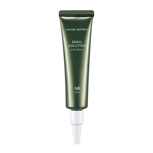 [Nature Republic] Snail Solution Eye Cream 30ml - Cosmetic Love