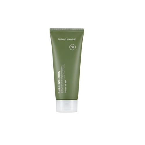 [Nature Republic] Snail Solution Foam Cleanser 150ml